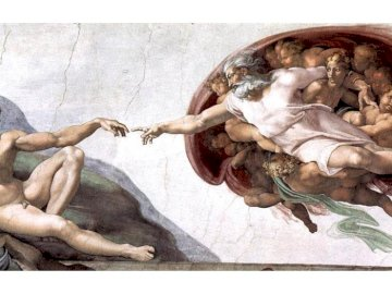 The creation of Adam - Fresco Sistine Chapel