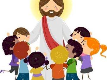 Pan Jezus i dzieci - Pan Jezus i dzieci - dzień dziecka