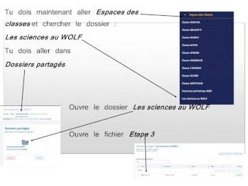 College WOLf - Puzzel met aanwijzingen om het tweede deel van de code te vinden