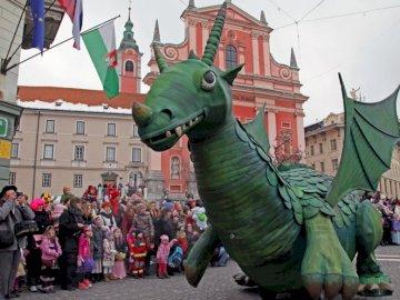 A DRAGON A VÁROSBAN - A San Giorgio sárkánya