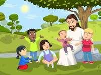 Ježíš miluje děti
