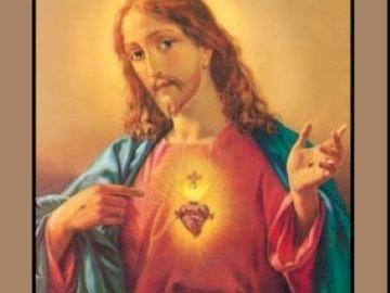 Coração de jesus - Complete o quebra-cabeça - Coração de Jesus. Boa sorte!!!