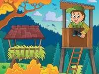 лесничей - лесовъд, служител на държавните гори