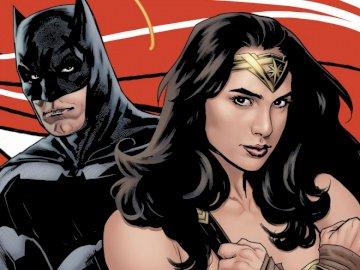 Batman i Wonder Woman - Superbohaterowie z komiksów DC Comics