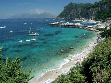 Golfo di Napoli - Capri isola meravigliosa per una vacanza