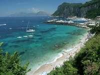 Zatoka neapolitańska - Capri cudowna wyspa na wakacje