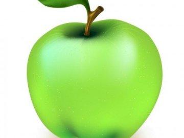 Apple- jabłko - apple, fruit, jabłko, jedzenie