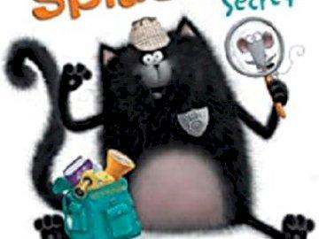 splat agent secret - couverture album