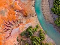 Aerial view of Pilbara