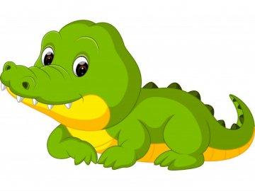 Krokodyl - krokodyl przedszkole dla maluszków