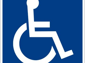 Disabled sign - Disabled sign