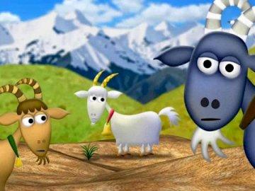 Three Billy Goats Gruff - 'The Three Billy Goats Gruff' - story