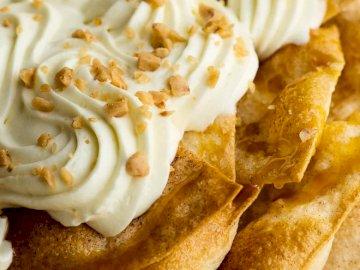 Deserowe Nachos - Pyszne nachos z cynamonowym sernikiem
