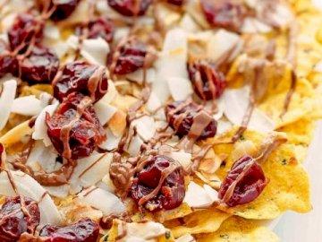 Pyszne Nachos Deserowe - Więcej deserowych nachos z pekanami, mniam