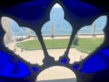 Vue fenêtre - Palais de Dolmabahçe, Istanbul, Turquie
