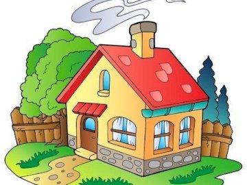 Hauspuzzlespiel - Löse das Puzzle