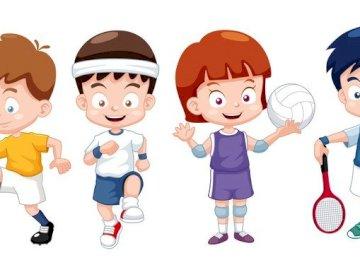 Mutarea este sănătoasă - Puzzle-uri create pentru Ziua Sporturilor