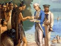 Capitão Cook e Maori