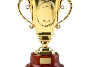 το πιο όμορφο κύπελλο για έναν υπέροχο δάσκαλο - Puzzle Cup - βραβείο για τον καλύτερο πρωταθλητή σε διάφορε�
