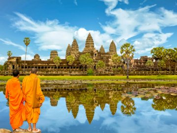 The temple of d'Angkor - Temple located in Congo
