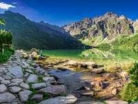 Полски планински пейзаж