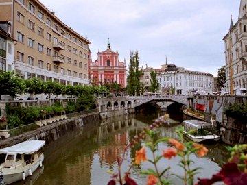 Lublaň - Lulbana - hlavní město Slovinska