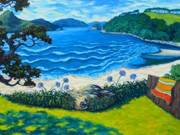 Morze i plaża - wakacje, pogoda, morze, plaża