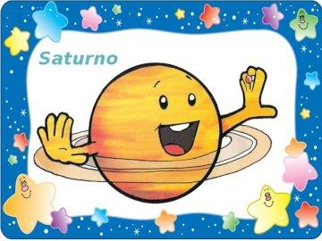 Saturn dla dzieci - Saturn i jego pierścienie