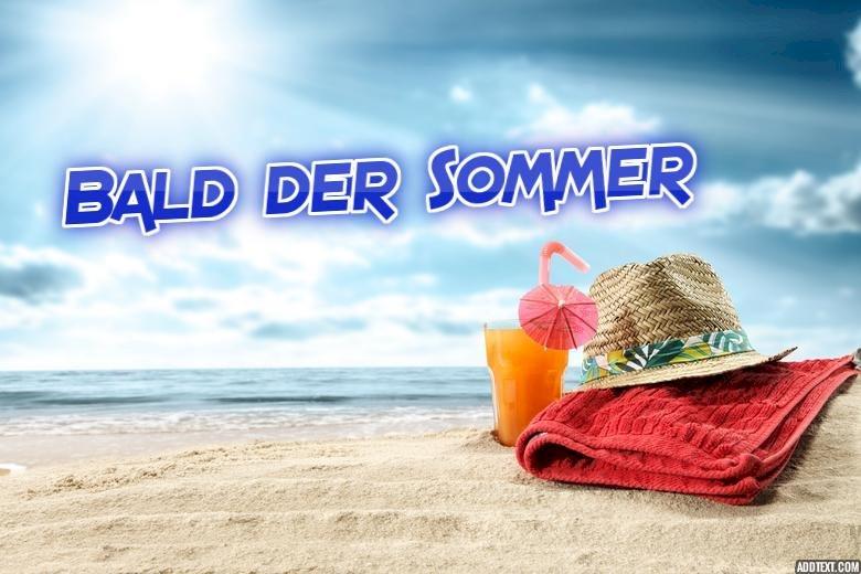 Bald der Sommer - Des animations pour un avant-goût de l'été :) (4×4)