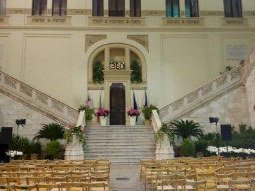 Ingresso del Comune - Ingresso del Comune di Cagliari