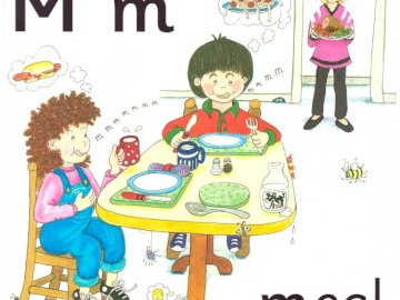 "Jolly Phonics Sound 'm' - La storia del suono ""m"" dal libro di Jolly Phonics"