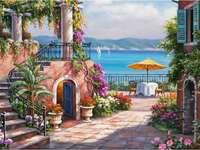 Toskansk terrass