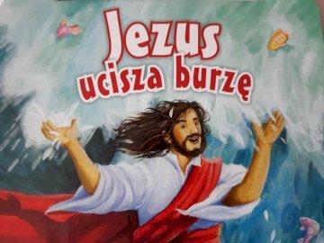 Uciszenie burzy - Uciszenie burzy przez Jezusa