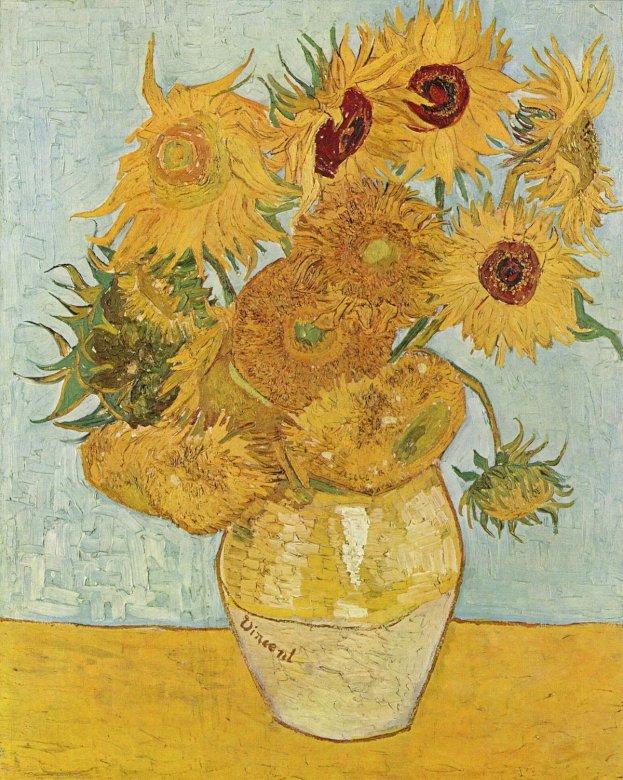Napraforgó - Napraforgó Vincent van Gogh (4×3)