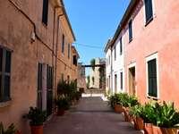 gator i Alcudia på Mallorca - gator i Alcudia på Mallorca