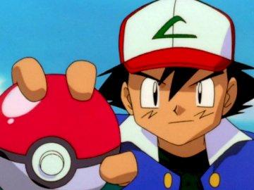 Pokémon - Sacha et sa pokéball