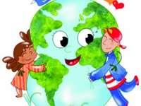 De aarde is onze planeet