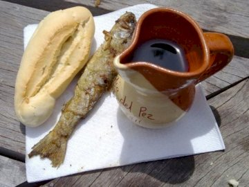 Pan , pez y vino  de San Bernabé - Puzzle de la tradición logroñesa de San Bernabé