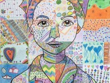 Irena Sendlerová - Irena Sendlerová, nástěnná malba