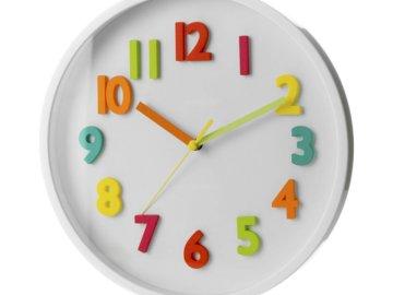 Analogové hodiny - Namontujte analogové hodiny