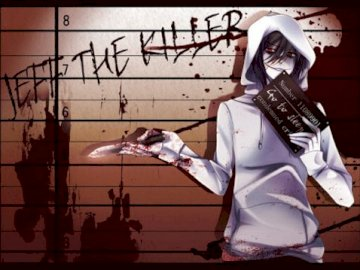 jeff kille - protože vrah je ve vazbě, aby mohl kontaktovat štíhlé o pomoc, jeff si musí ve vězení sklád