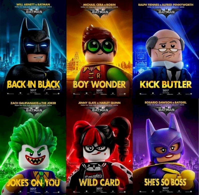 Lego Batman - Immagini dei personaggi di Batman Lego nel film (5×5)