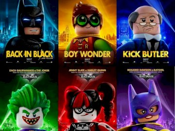 Batman Lego - Imágenes de personajes de batman Lego la película