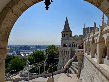 Budapest - view of the tower ------------------
