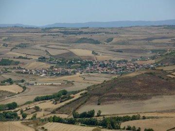 Panorama Gesico - Panorama di Gesico da Monte San Mauro.