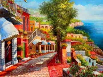 Wyspa Capri - wakacje, wyspa, pogoda, lato