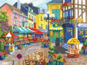Rynek we Francji - sztuka, rynek francuski, handel