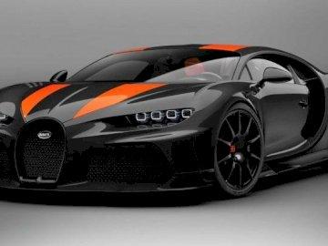 bugatti chiron - este una dintre cele mai rapide mașini din lume