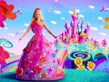 barbie puzzle - barbie to jest super bajka polecam