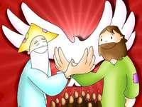 Sfanta Treime - Dumnezeu Tatăl - Fiul lui Dumnezeu - Duhul Sfânt